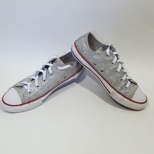 Iridescent Converse All Stars  Size 3